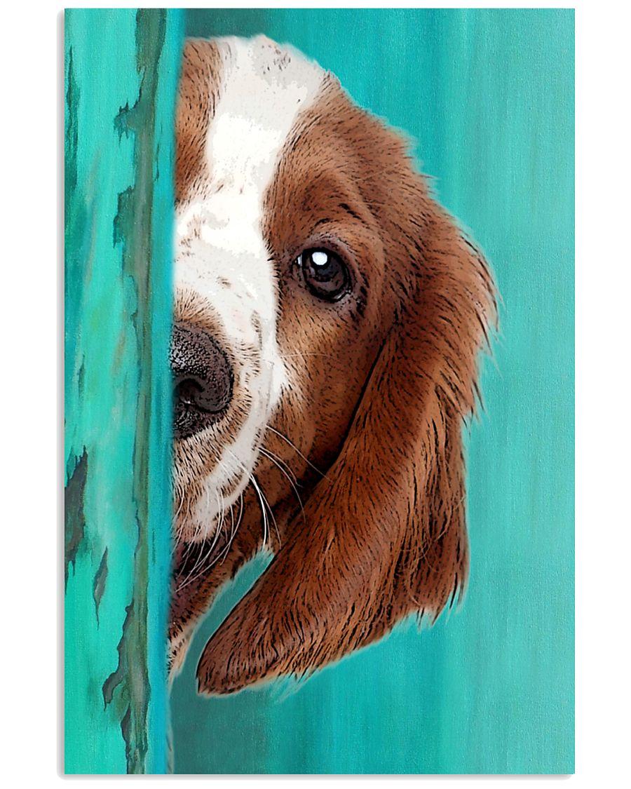 Welsh Springer Spaniel Half Face 11x17 Poster