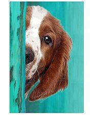 Welsh Springer Spaniel Half Face 11x17 Poster front