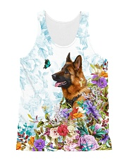 THEIA German Shepherd Cute 1607 All-over Unisex Tank front
