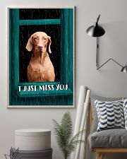 Vizsla I Just Miss You Poster 2501 11x17 Poster lifestyle-poster-1