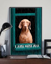 Vizsla I Just Miss You Poster 2501 11x17 Poster lifestyle-poster-2