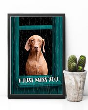 Vizsla I Just Miss You Poster 2501 11x17 Poster lifestyle-poster-8