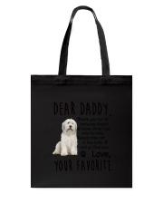 Old English Sheepdog Daddy 2712 Tote Bag thumbnail