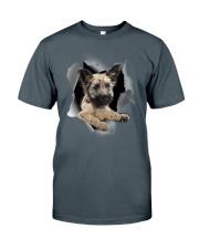 Skye Terrier Scratch Hole Mug 2801 Classic T-Shirt thumbnail