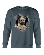 Skye Terrier Scratch Hole Mug 2801 Crewneck Sweatshirt thumbnail