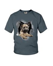 Skye Terrier Scratch Hole Mug 2801 Youth T-Shirt thumbnail