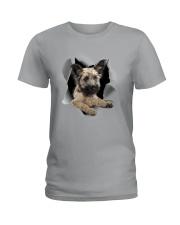 Skye Terrier Scratch Hole Mug 2801 Ladies T-Shirt thumbnail