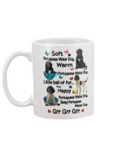 Portuguese Water Dog Soft Warm Happy Mug 2301 Mug back