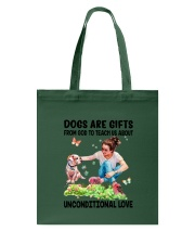 Dog Unconditional Love 0910 Tote Bag thumbnail