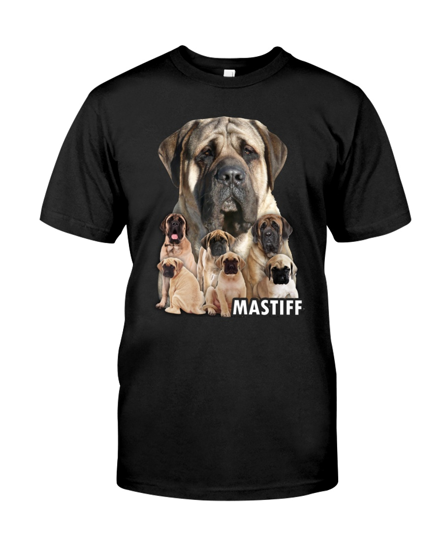 Mastiff Awesome Family 0701 Classic T-Shirt