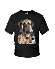 Mastiff Awesome Family 0701 Youth T-Shirt thumbnail