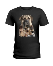 Mastiff Awesome Family 0701 Ladies T-Shirt thumbnail