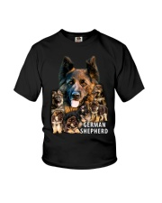 German Shepherd Awesome Youth T-Shirt tile