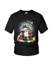 Rottweiler Snowman 1909 Youth T-Shirt thumbnail