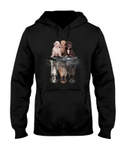 Great Dane Dreaming  Hooded Sweatshirt front
