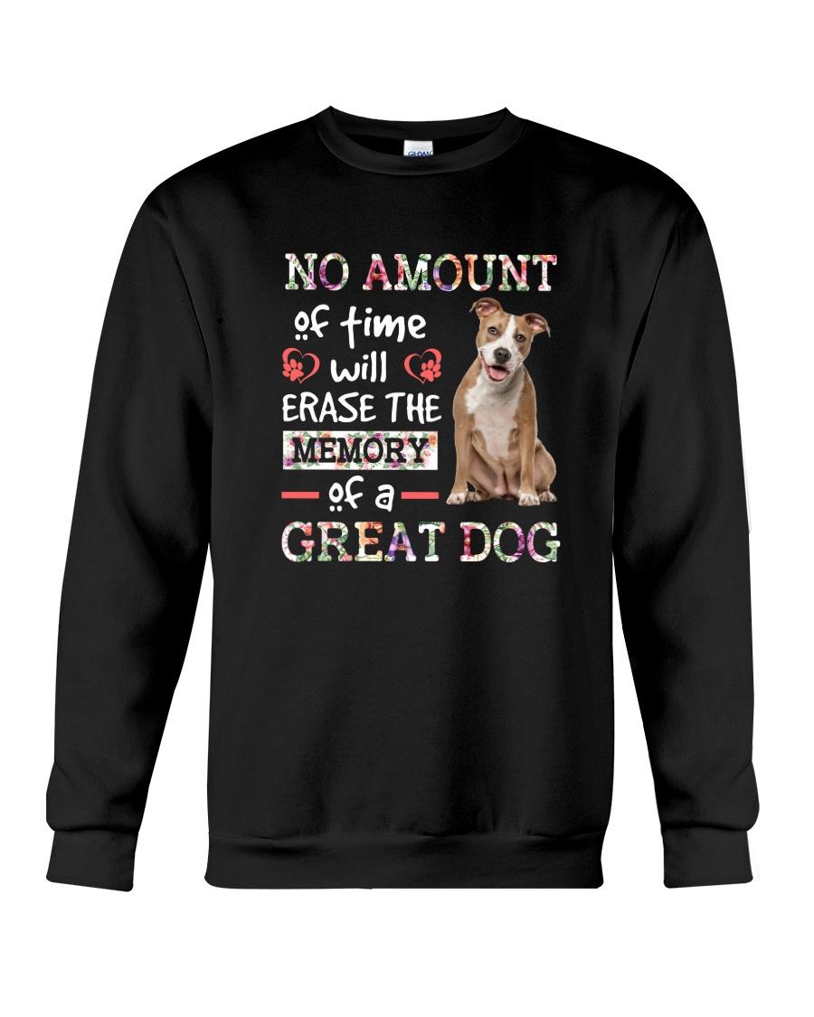 American Staffordshire Terrier great 1210 Crewneck Sweatshirt