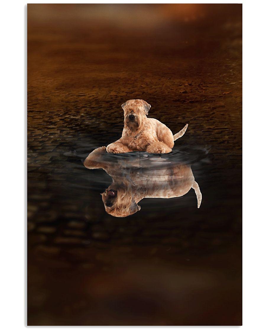 Soft Coated Wheaten Terrier Believe 11x17 Poster