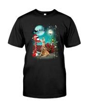 Golden Retriever to Santa Classic T-Shirt thumbnail