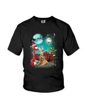 Golden Retriever to Santa Youth T-Shirt thumbnail