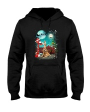 Golden Retriever to Santa Hooded Sweatshirt thumbnail