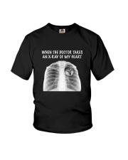 Shiba Inu X-ray Youth T-Shirt thumbnail
