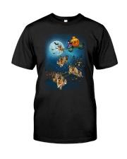 German Shep Pumpkin Carriages Classic T-Shirt thumbnail