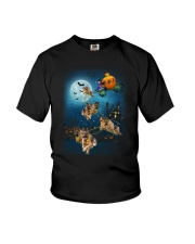 German Shep Pumpkin Carriages Youth T-Shirt thumbnail