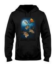 German Shep Pumpkin Carriages Hooded Sweatshirt thumbnail