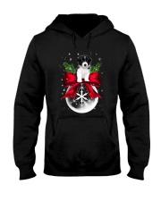Border Collie Noel Hooded Sweatshirt front