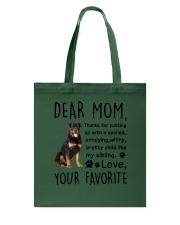 Rottweiler Dear Mommy Mug 2501 Tote Bag thumbnail