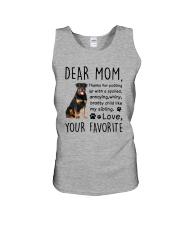 Rottweiler Dear Mommy Mug 2501 Unisex Tank thumbnail