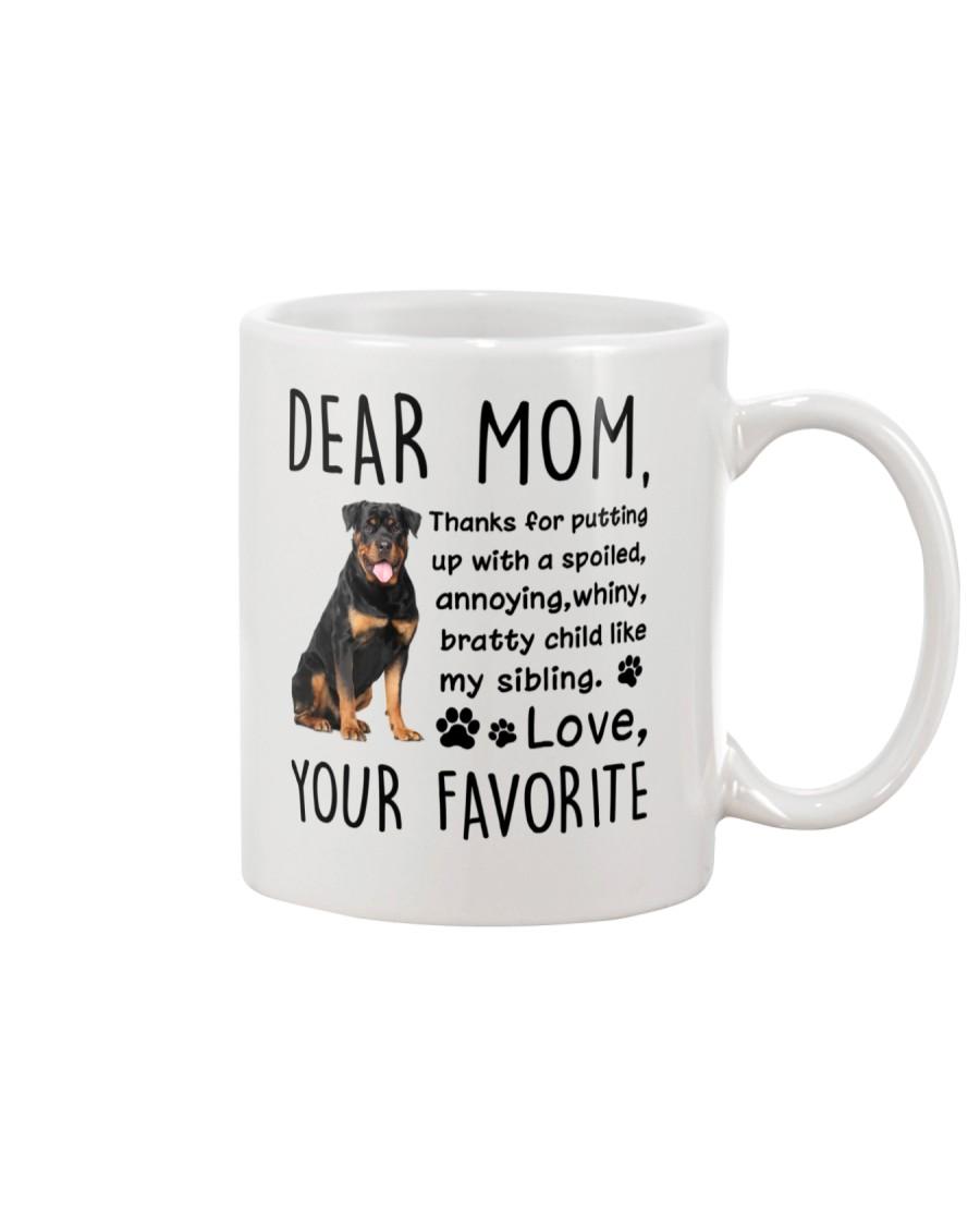 Rottweiler Dear Mommy Mug 2501 Mug
