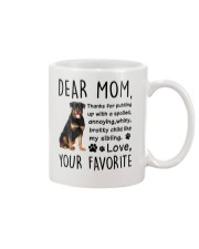 Rottweiler Dear Mommy Mug 2501 Mug front
