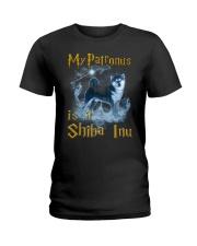 Shiba Inu Patronus Ladies T-Shirt thumbnail