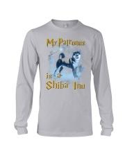 Shiba Inu Patronus Long Sleeve Tee thumbnail