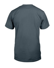 American Staffordshire Terrier and Wine Classic T-Shirt back