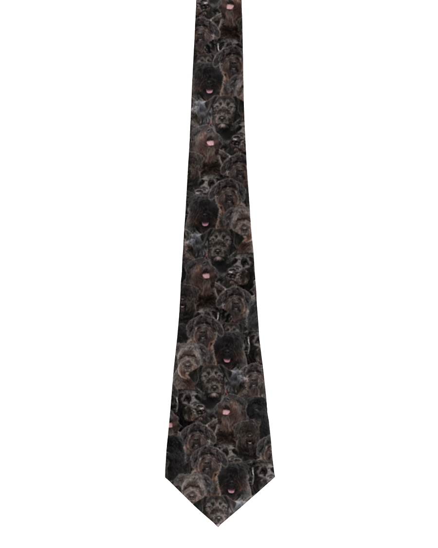 Bouvier des Flandres Awesome Tie Tie