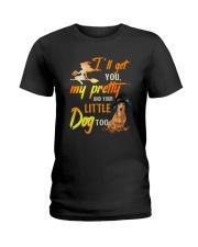 Dachshund little Ladies T-Shirt thumbnail