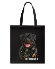 Rottweiler family Tote Bag thumbnail