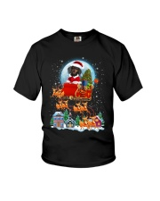 Dachshund santa 0210 Youth T-Shirt thumbnail