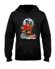 Dachshund santa 0210 Hooded Sweatshirt thumbnail