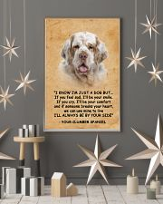 Clumber Spaniel I Know Im Just A Dog Poster 1401  11x17 Poster lifestyle-holiday-poster-1