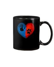 Dog One hand one paw 2807 Mug thumbnail