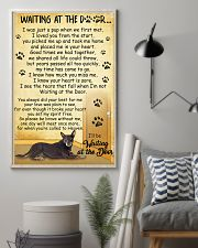 Australian Kelpie Waiting at The Door 11x17 Poster lifestyle-poster-1