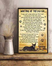 Australian Kelpie Waiting at The Door 11x17 Poster lifestyle-poster-3