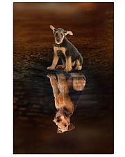Airedale Terrier Believe 11x17 Poster front