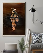 Airedale Terrier Believe 11x17 Poster lifestyle-poster-1