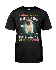 THEIA Bulldog Wish 2906 Classic T-Shirt front