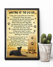Manchester Terrier Waiting At The Door 2601 11x17 Poster lifestyle-poster-8