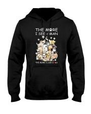 I Like Dogs Hooded Sweatshirt thumbnail
